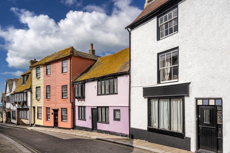 Hastings in Sussex royalty-vrije stock afbeeldingen