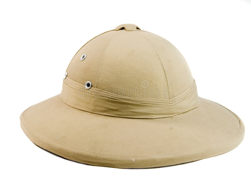 Hat of african hunter royalty free stock images