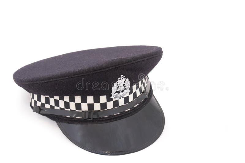 Download Hat Of British Police Officer Stock Image - Image: 4690969