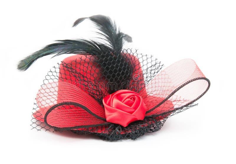 Hat de señora fotos de archivo libres de regalías