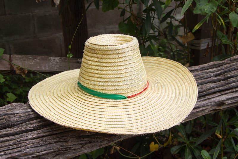 Hat of farmer royalty free stock photo