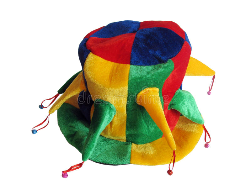 Download Hat with jingles stock image. Image of bell, punch, jester - 12463971