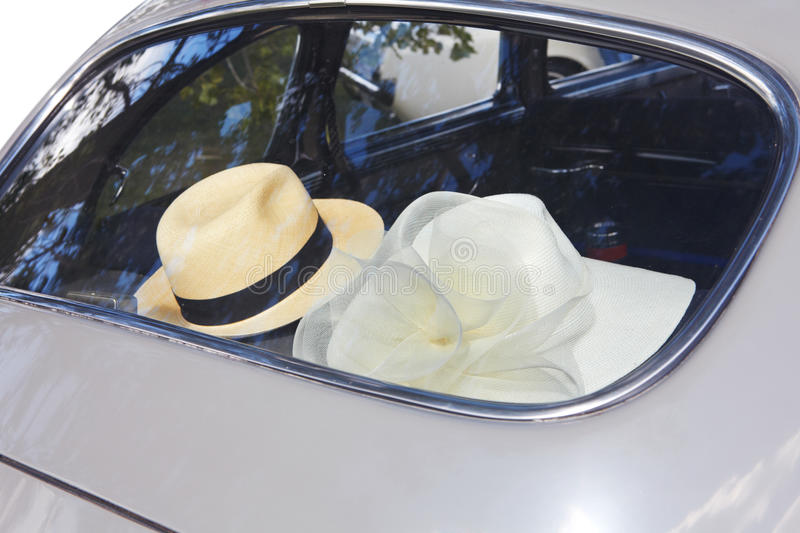 Download Hat and retro car stock photo. Image of antique, chrome - 26830668