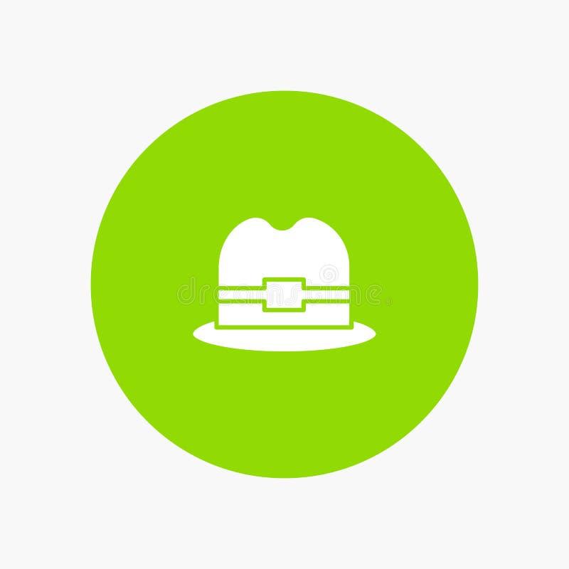 Hat, Tourism, Man stock illustration