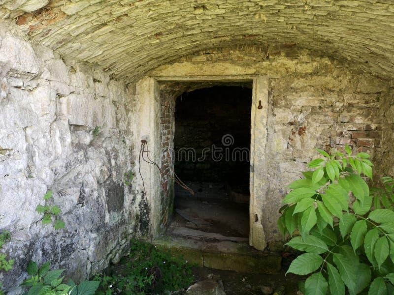 hatch basement concrete entrance slab stock photos