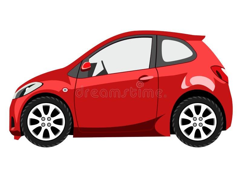 hatchback illustration stock