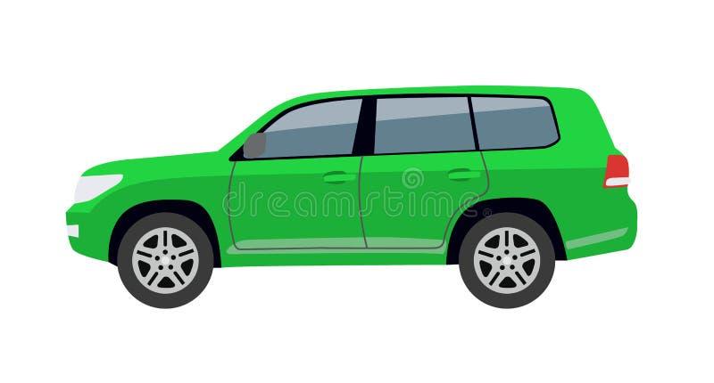Hatchback Samochodowego ciała zabawki Auto Wektorowa ilustracja royalty ilustracja