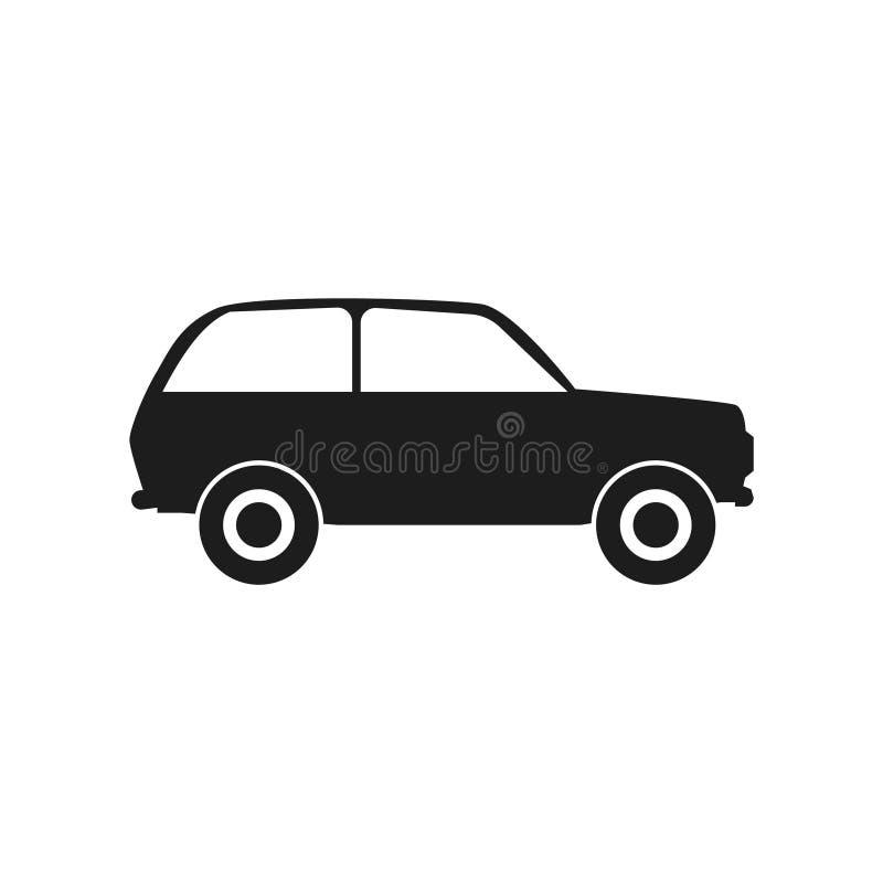 Hatchback samochodu ilustracja royalty ilustracja