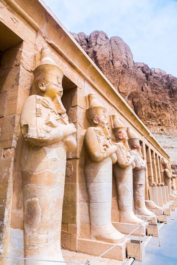 Hatchepsut świątynia Grobowowie wielmoże obrazy royalty free