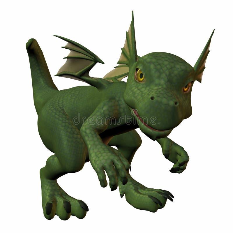 Hatchling Dragon vector illustration