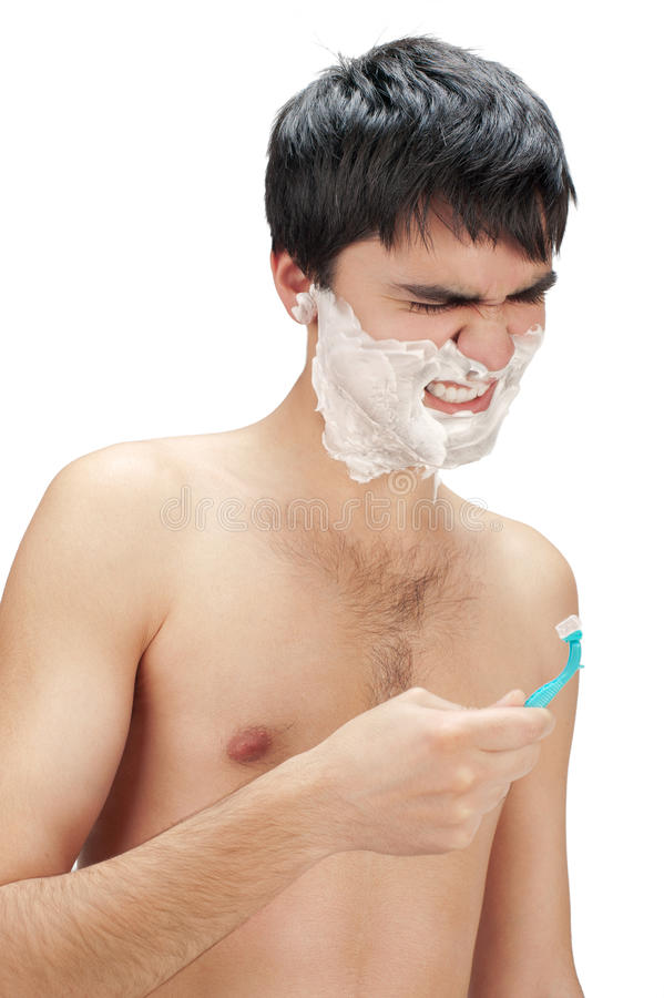Hate to shave royalty free stock photo