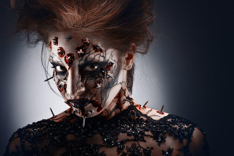 Download Hateful look. stock image. Image of look, grim, dead - 38232737