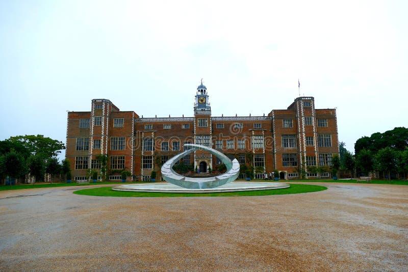 Hatfieldhuis - Hertfordshire het Verenigd Koninkrijk stock fotografie
