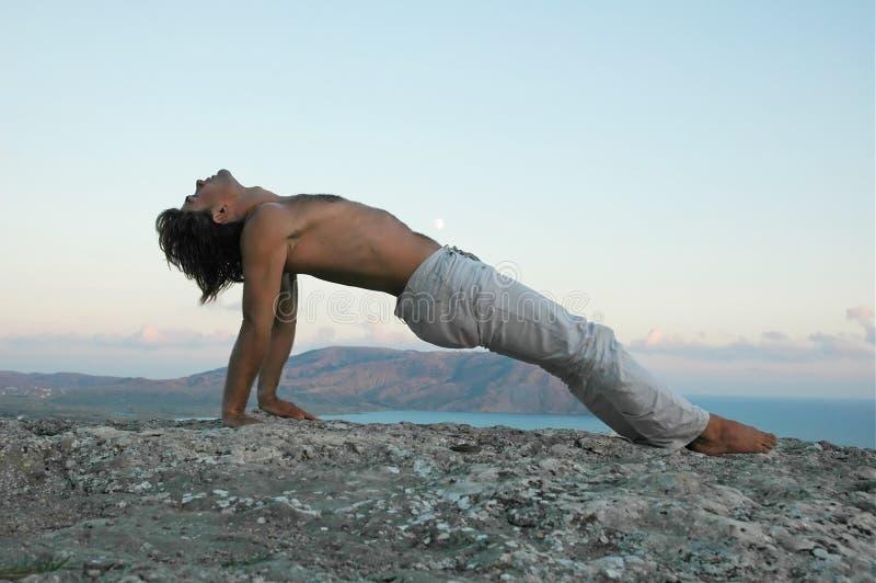 Hatha-yoga imagenes de archivo