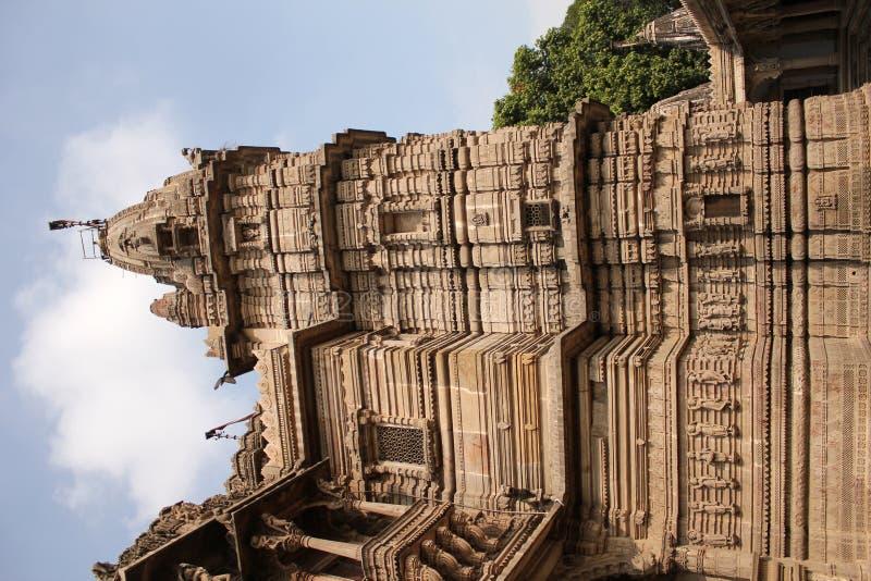Hatheesinh jain Tempel, ahmadabad lizenzfreies stockbild
