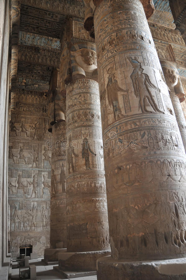 hathor świątynia zdjęcie stock
