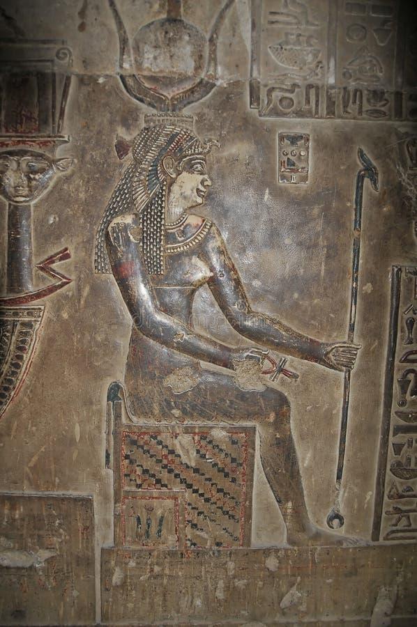 hathor świątynia zdjęcia stock