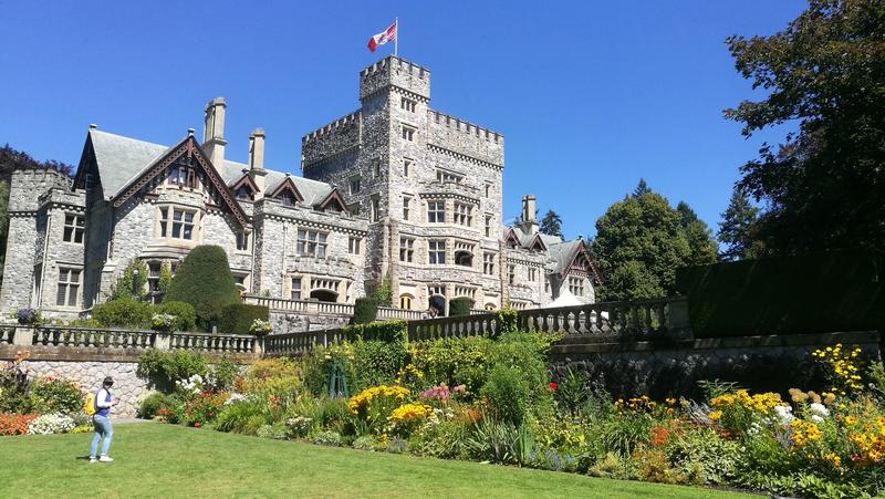 Hatley Castle royalty free stock photo
