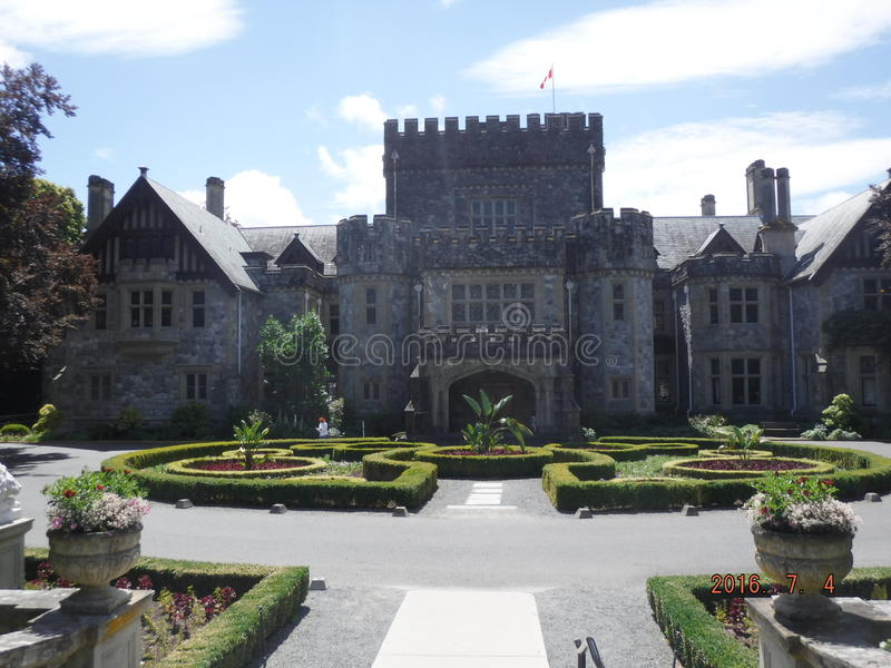 Hatley castle stock image image of garden traditional - What time does victoria gardens close ...