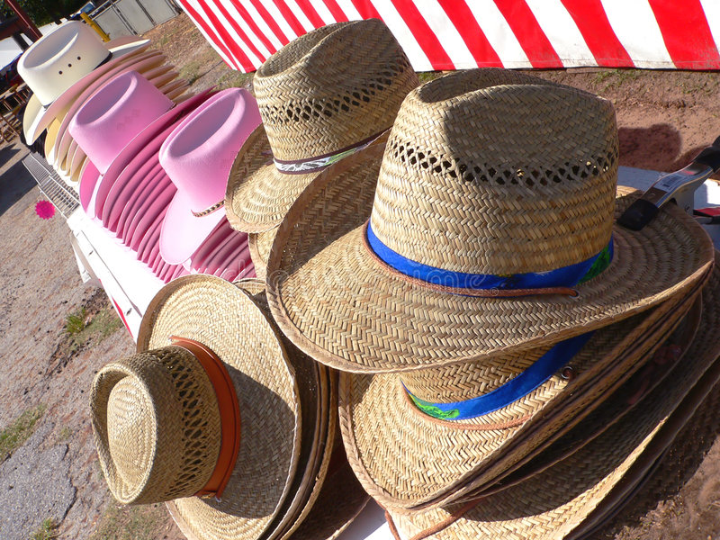 Hats stock photography