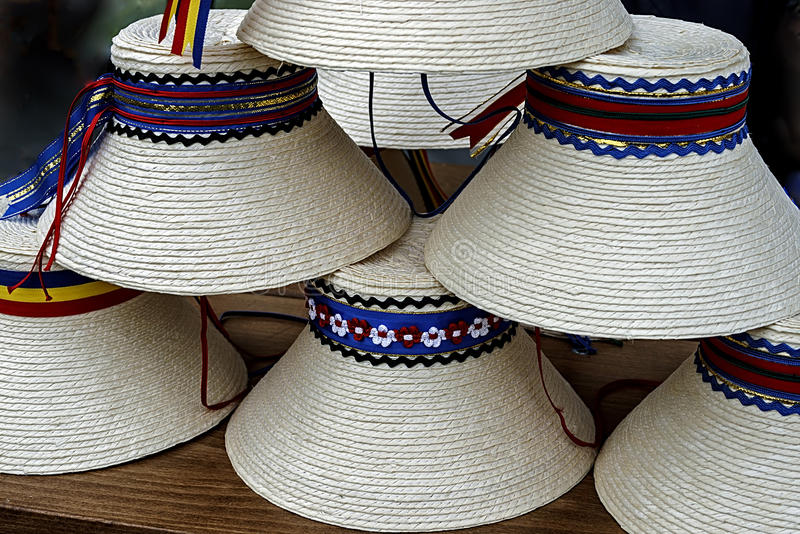 Download Hats For Mens Traditional Romanian Stock Photo - Image: 27851150