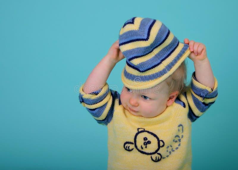 Download Hats off! stock photo. Image of wonder, child, portrait - 511954