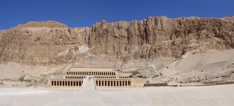 Hatschepsut-tempio nella valle delle regine fotografia stock