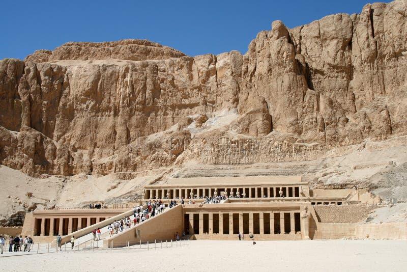 Hatsepsut tempel, Egypten royaltyfri bild