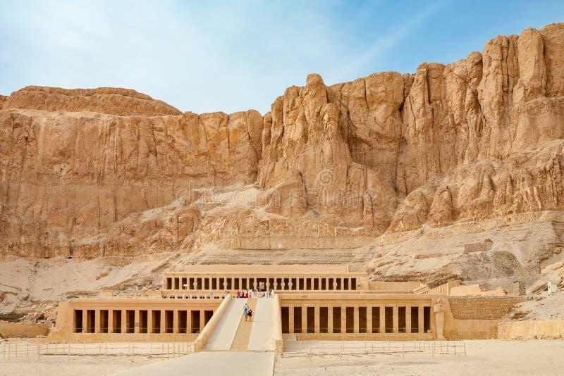 Hatshepsut寺庙 埃及卢克索 库存照片