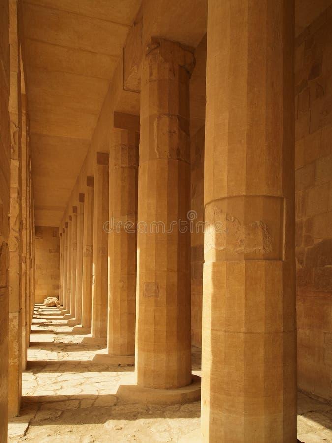 Hatshepsut's temple royalty free stock photo