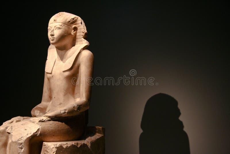 Hatshepsut shadow stock photo