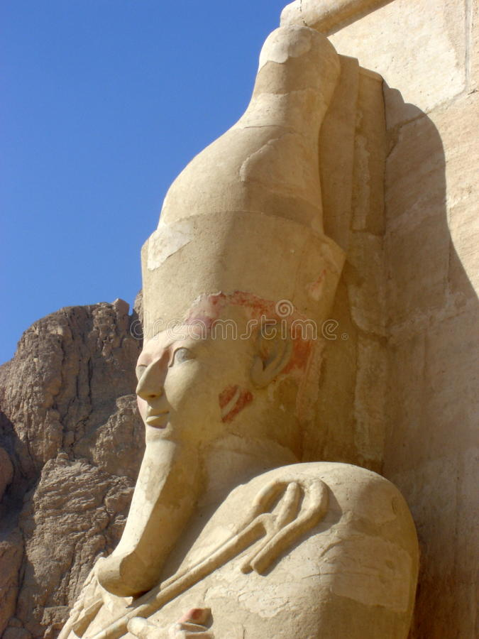 Hatshepsut temple royalty free stock photo