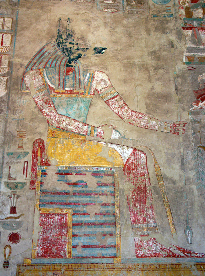 Free Hatshepsut Temple, Egypt Stock Images - 1376994