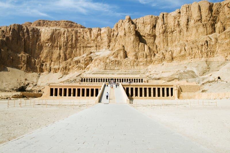hatsheput świątynia obraz royalty free