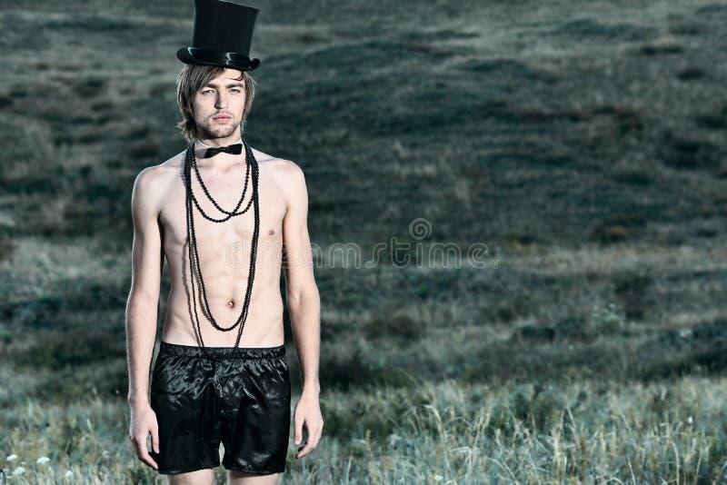 hattöverkant royaltyfri bild