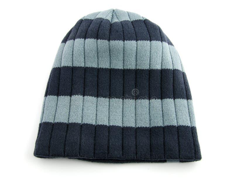 hatt isolerad white arkivfoto