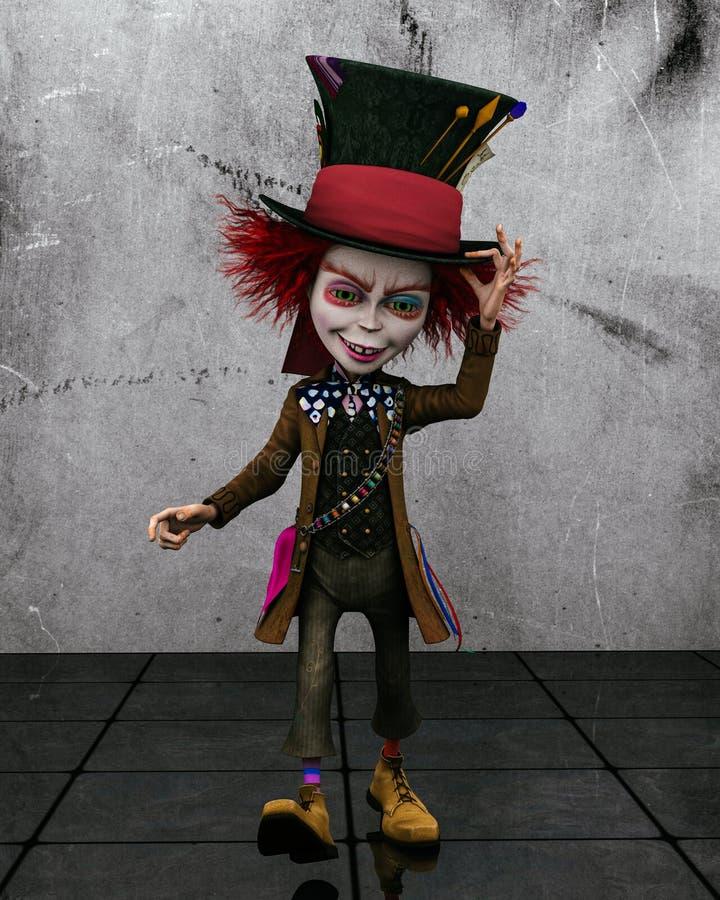 Hatter pazzo 1 illustrazione vettoriale