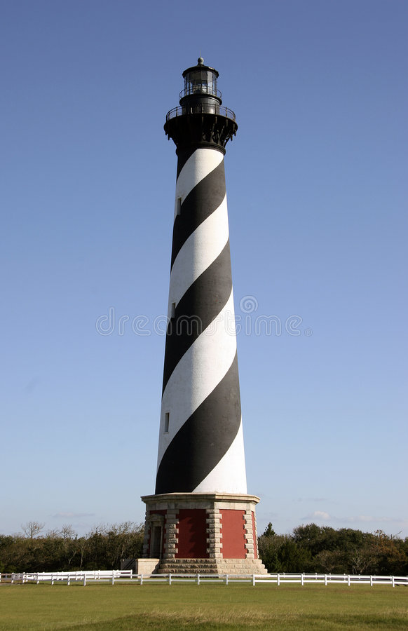 Hatteras Lighthouse royalty free stock photos