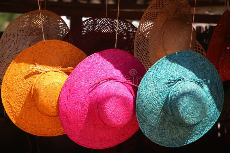 hattförsäljning royaltyfri fotografi