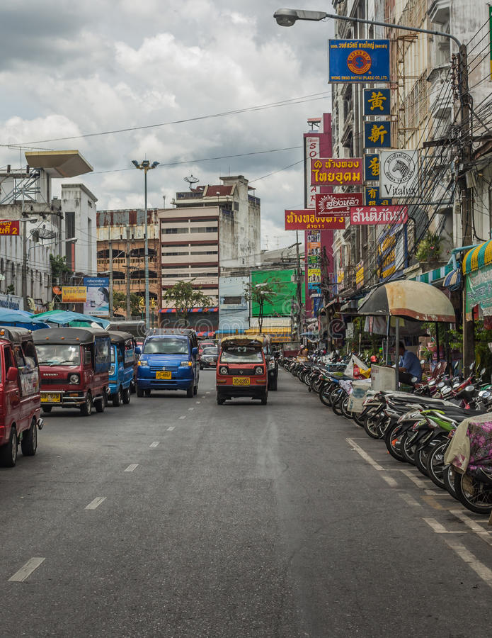 Hatyai-Piazza, Thailand lizenzfreies stockfoto