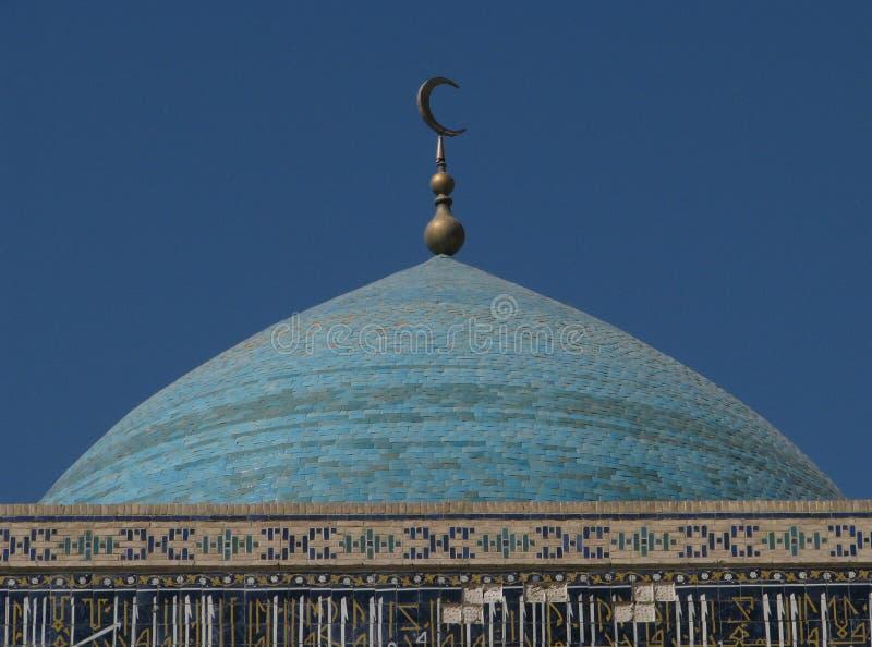 Haube der Moschee stockfotos