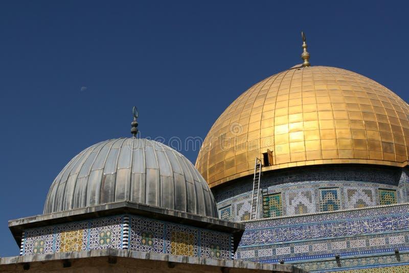 Haube des Felsens, Jerusalem stockbild