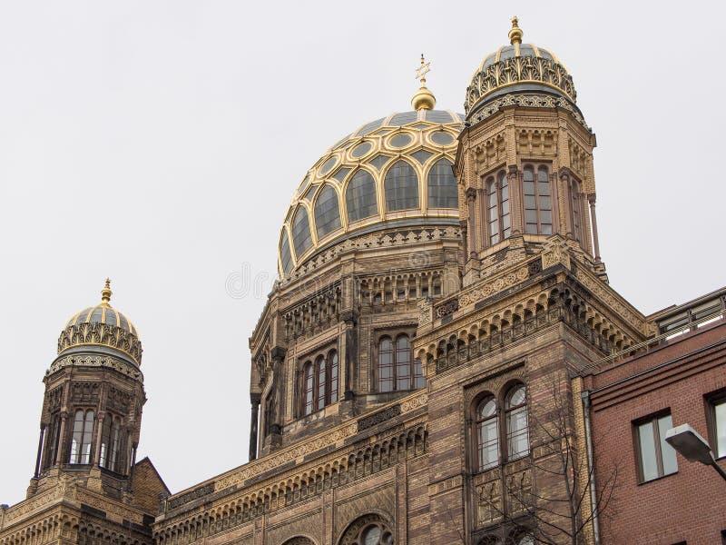 Haube des Neue Synagoge, neue Synagoge, in Berlin, Deutschland stockbild