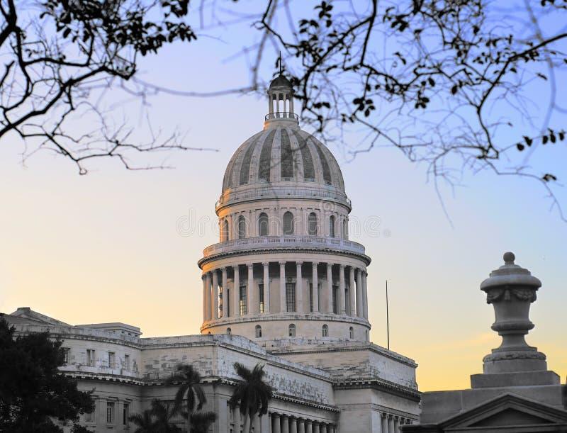Haube Havana-Capitoly stockfotografie
