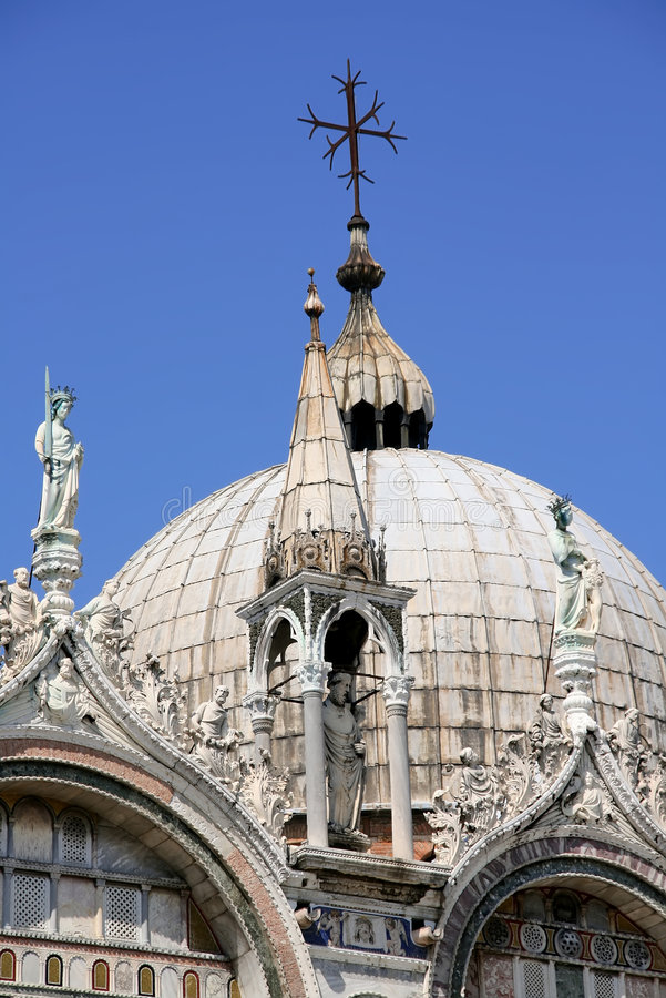 Haube von Doges Palast, Venedig lizenzfreie stockfotografie