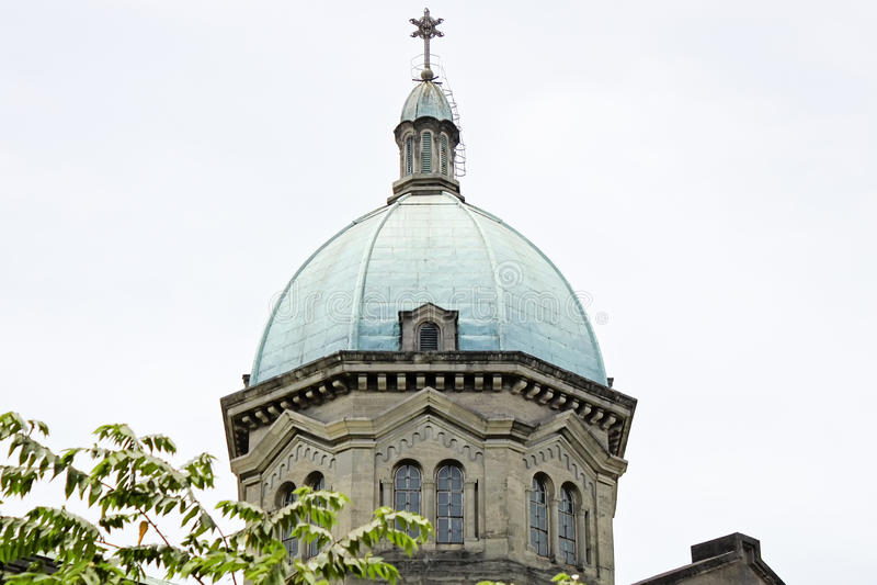 Haube von Manila-Kathedrale, Nahaufnahme von Roman Catholic-Basilika L stockfotos