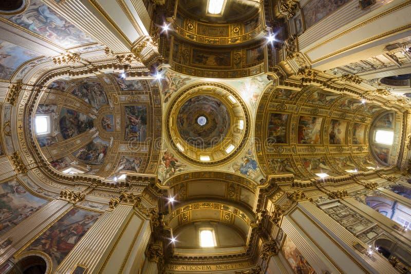 Haube von Sant Andrea della Valle stockfotos