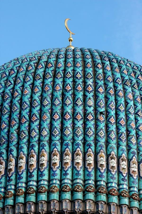 Haubekathedralemoschee. Str. - Petersburg. lizenzfreie stockfotos