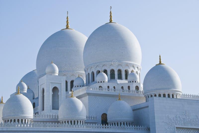 Hauben einer Moschee lizenzfreies stockfoto