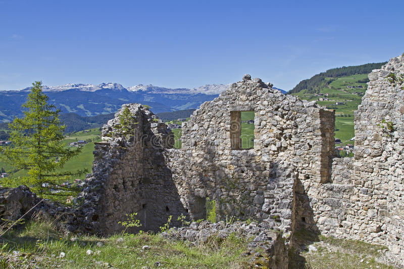 Download Hauenstein Ruins In South Tyrol Stock Photo - Image of alto, ruins: 25967876